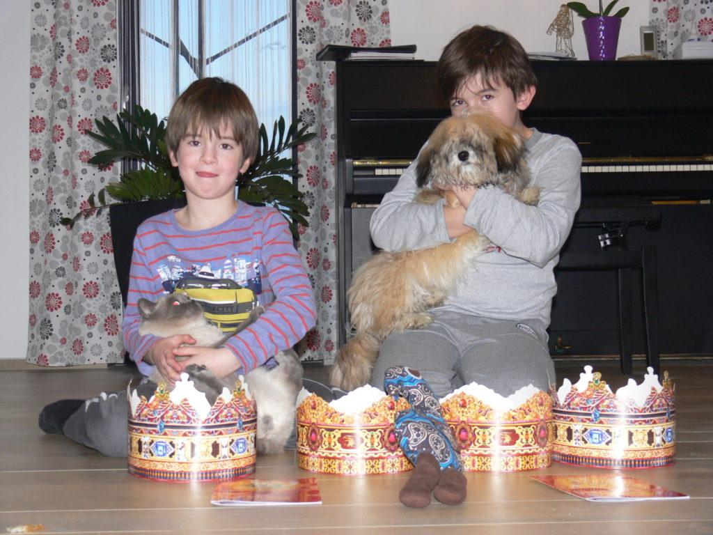 Dzieci w rodzinie SweetFeet